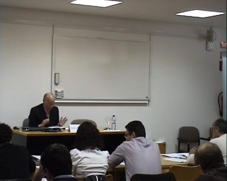 Carlos Fernández Novoa, catedrático de Dereito Mercantil - Curso de Marcas